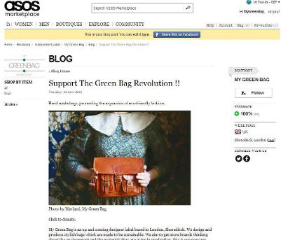 asos blog post, fashion blog, my green bag, backpack, messenger bag, leather bag