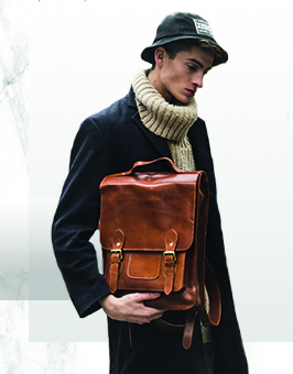 brown leather backpacks rucksacks london