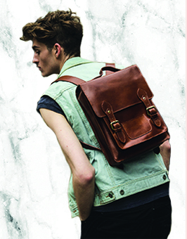 leather backpack rucksack bags london