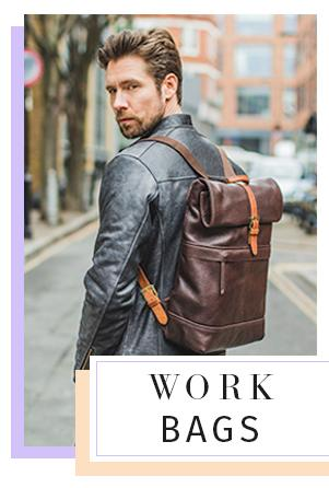 leather backpack satchel rucksack bags work bag office college bags women men