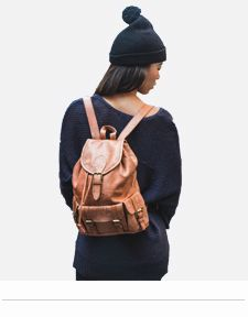 leather backpacks womens rucksacks cool bags london