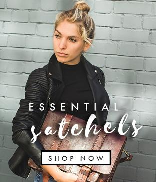 wommens leather satchels bags backpack rucksacks shop london