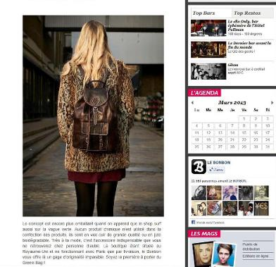 leather rucksack, leather backpack, french fashion blog post