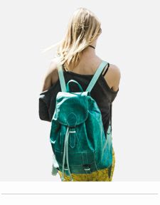 COLOURFUL LEATHER BACKPACKS WOMENS MENS RUCKSACKS LONDON